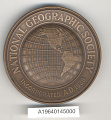 View Medal, National Geographic Society Medal, Amelia Earhart digital asset number 2