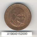View Medal, Amelia Earhart, First Woman to Cross the Atlantic by Airplane digital asset number 4