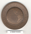 View Medal, National Geographic Society Hubbard Medal, Lincoln Ellsworth digital asset number 1