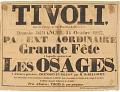 View Tivoli PA Ext Aordinaire Grade Fete A laquelle assisteront Les Osages digital asset number 0
