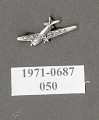 View Pin, Lapel, Pan American Grace Airlines (PANAGRA) digital asset number 1