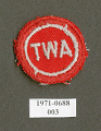 View Insignia, Flight Attendant, Transcontinental & Western Air Inc. (TWA) digital asset number 1