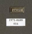 View Pin, Lapel, Transcontinental & Western Air Inc. (TWA) digital asset number 1