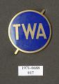 View Badge, Cap, Mechanic, Transcontinental & Western Air Inc. (TWA) digital asset number 1