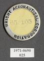 View Pin, Lapel, Wright Aeronautical Corp. digital asset number 1