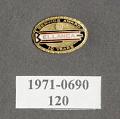 View Pin, Lapel, 10 Years Service, Bellanca Aircraft Co. digital asset number 1