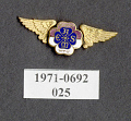 View Pin, Lapel, New York University Aero Mechanical Engineering Society digital asset number 1