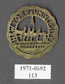 View Pin, Lapel, New York University digital asset number 1
