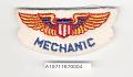 View Badge, Mechanic, War Training Service, Civil Aeronautic Administration digital asset number 1