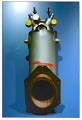 View Rocket Engine, Liquid Fuel, Orbital Attitude Maneuvering System (OAMS), Gemini digital asset number 0