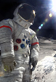 View Pressure Suit, A7-LB, Cernan, Apollo 17, Flown digital asset number 1