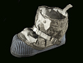 View Boot, Right, Lunar Overshoe, Cernan, Apollo 17, Flown digital asset number 1