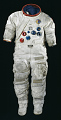 View Pressure Suit, A7-LB, Schmitt, Apollo 17, Flown digital asset number 0