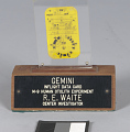 View Card, Inflight Vision Test, Gemini VII digital asset number 3