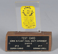 View Card, Inflight Vision Test, Gemini VII digital asset number 0