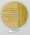View Case, Medal, Adventurers Club of New York, Alexander de Seversky digital asset number 1