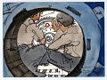 View Apollo-Soyuz Test Project, Interior of Docking Module digital asset number 0