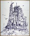 View Drawing, Felt Tip Pen on Paper digital asset number 0