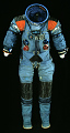 View Pressure Suit, Apollo, A5-L, Prototype digital asset number 0