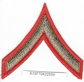 View Insignia, Rank, Private First Class, Civil Air Patrol (CAP) digital asset number 1