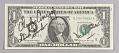 View One Dollar Bill, Apollo 12 digital asset number 0