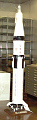 View Stand, Model, Rocket, Saturn IB, 1:48 digital asset number 1