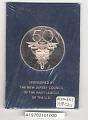 View Medal, 50th Anniversary Lakehurst Naval Air Station Medal digital asset number 2