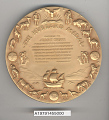 View Medal, National Geographic Society Hubbard Medal, Juan Trippe digital asset number 3