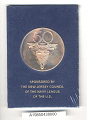View Medal, Commemorative, 50th Anniversary of Lakehurst Naval Air Station digital asset number 3