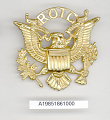 View Badge, Cap, Reserve Officer Training Corps (ROTC), United States Army digital asset number 1