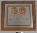 View Plaque, Apollo 11 Commemorative, Michael Collins digital asset number 0