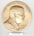 View Case, Medal, Roosevelt Memorial Association Distinguished Service, Gen. Yeager digital asset number 0