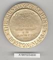 View Case, Presentation, Medal, Bradford Washburn Award, Gen. Charles Yeager digital asset number 1