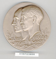 View Box, Medal, New York University Hall of Fame, Gen. Charles Yeager digital asset number 0