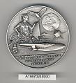 View Case, Presentation, Medal, Howard Hughes, Gen. Charles Yeager digital asset number 1