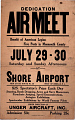 View Dedication Air Meet Benefit of American Legion Five Posts in Monmouth County digital asset number 0