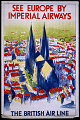 View See Europe by Imperial Airways The British Air Line digital asset number 1
