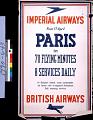 View Imperial Airways British Airways Paris in 70 Flying Minutes 8 Services Daily digital asset number 2