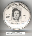 View Badge, Identification, Fairchild Aircraft Corporation digital asset number 1