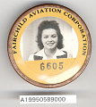 View Badge, Identification, Fairchild Aviation Corporation digital asset number 1