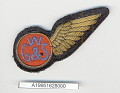 View Badge, Flight Attendant, Great Western & Southern Airlines digital asset number 1