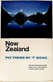 View New Zealand Fly There By BOAC digital asset number 0