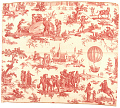 View Texile, Fabric, Toile de Jouy, Balloon Print digital asset number 0