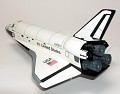 View Model, Space Shuttle Orbiter, Atlantis, 1:100 digital asset number 2