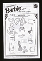 View Instruction Card, Barbie, Astronaut, Toys R Us digital asset number 0