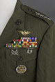View Coat, Dress Green, United States Marine Corps digital asset number 2