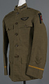View Coat, Service, United States Army Air Service, Kenneth Grubb digital asset number 0