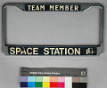 View Frame, License Plate, Space Station Concept, Rockwell Group digital asset number 0