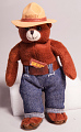 View Toy, Smokey Bear plush, Space Flown digital asset number 2