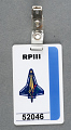View Badge, Columbia Accident Investigation Board, RPIII, Sally Ride digital asset number 0